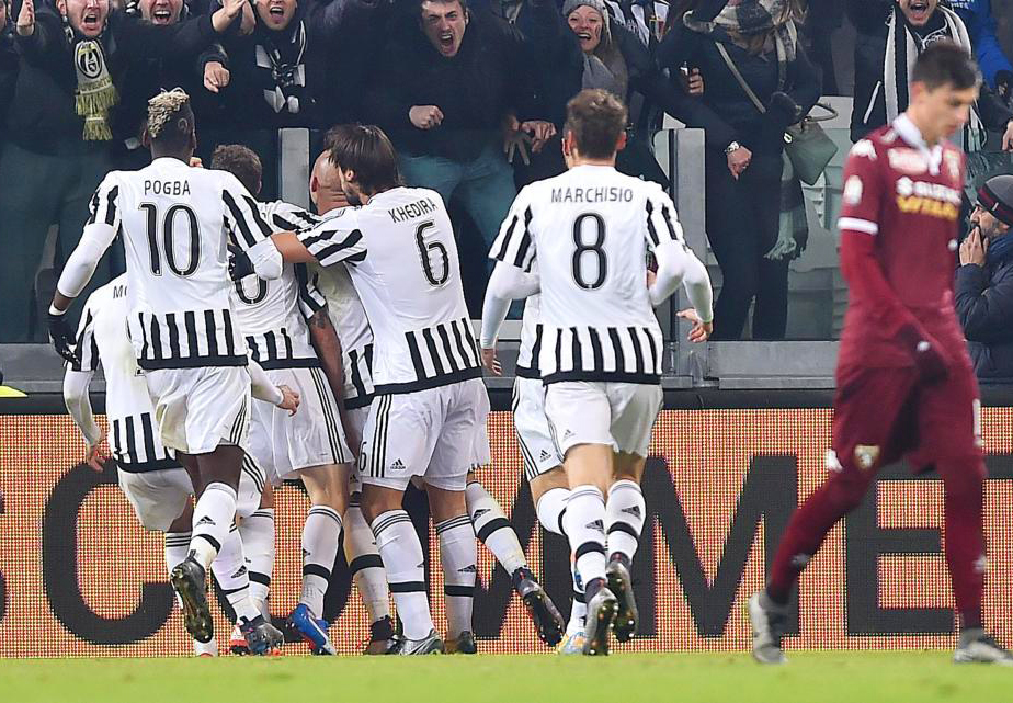 Soccer: Italy's Cup; Eight Finals, Juventus-Torino