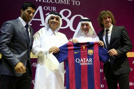 Barca nhận được khoản tài trợ áo đấu vượt xa Real và M.U