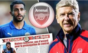 Riyad Mahrez đã đồng ý gia nhập Arsenal