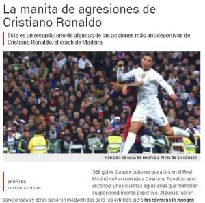 Ronaldo: những pha chơi xấu dưới thời Real Madrid