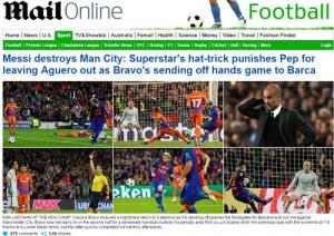 Messi được báo chí hết lời ca ngợi