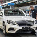 Mercedes xuất xưởng S-class 2018 tự lái đầu tiên