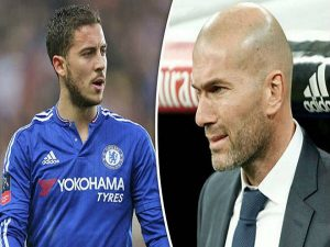 """Hazard mê Zidane, nóng lòng """"đào tẩu"""" Chelsea"""