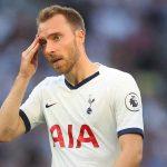 Christian Eriksen có thể rời CLB Tottenham Hospur miễn phí