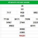 Dự đoán xổ số Thừa Thiên Huế thứ 2 ngày 17/2/2020 hôm nay