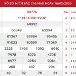 Dự đoán kết quả XSMB Vip ngày 17/02/2020