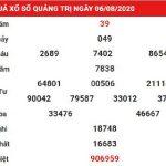 Dự đoán kết quả xổ số Quảng Trị ngày 13/8/2020