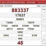 Phân tích KQXSBD ngày 09/10/2020- xổ số bình dương chi tiết