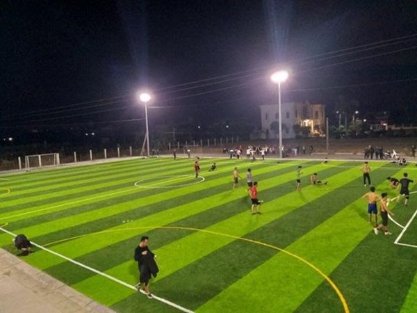 Đây là hình ảnh của sân Kỳ Hòa, một trong những sân bóng đá mini Quận 10.