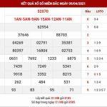 Phân tích XSMB ngày 10/4/2021 – Phân tích xổ số Nam Định thứ 7