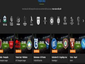 3 trang web xem trực tiếp bóng đá kèo nhà cái tốt nhất Việt Nam
